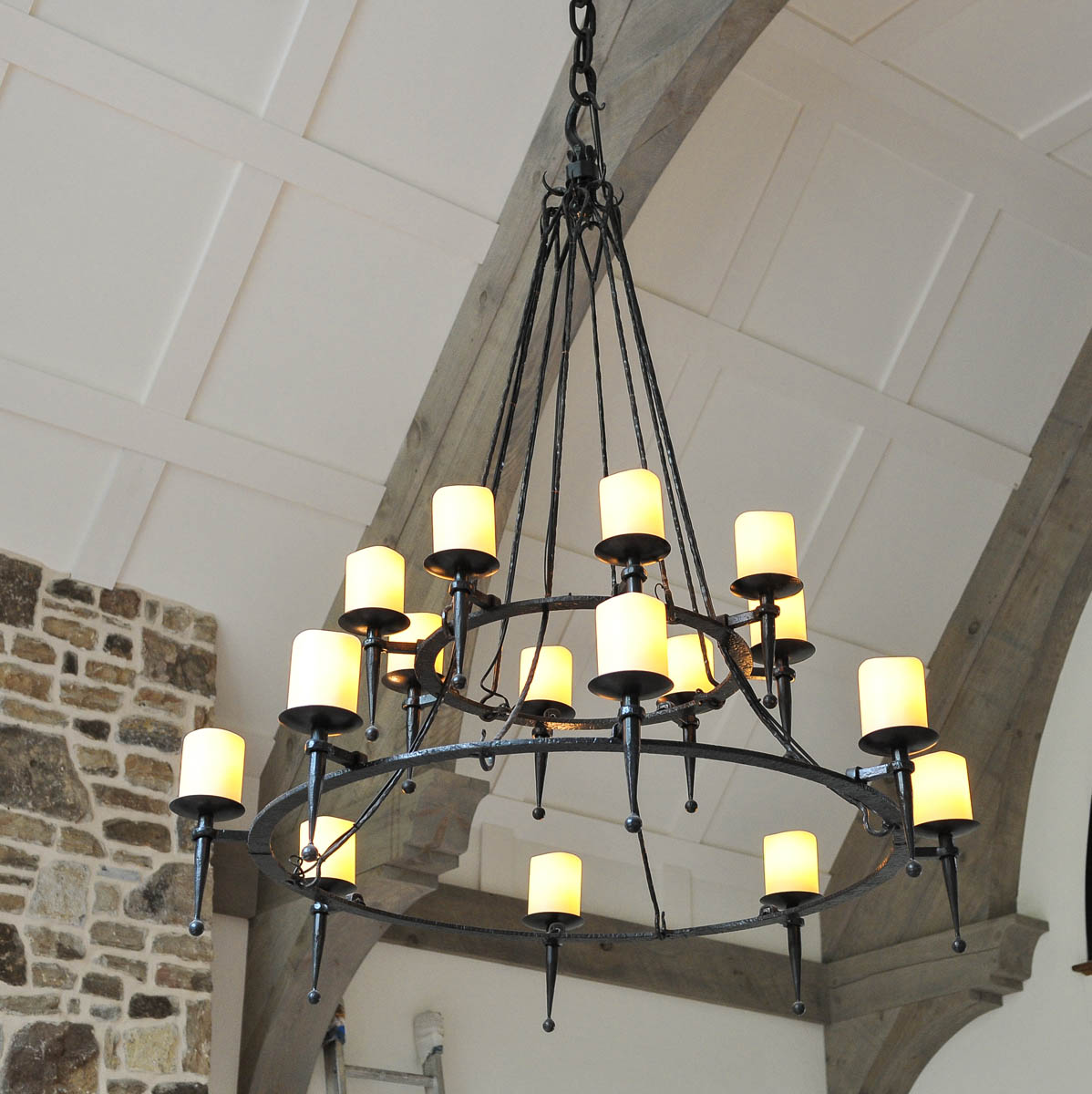 Double Ring Chandelier