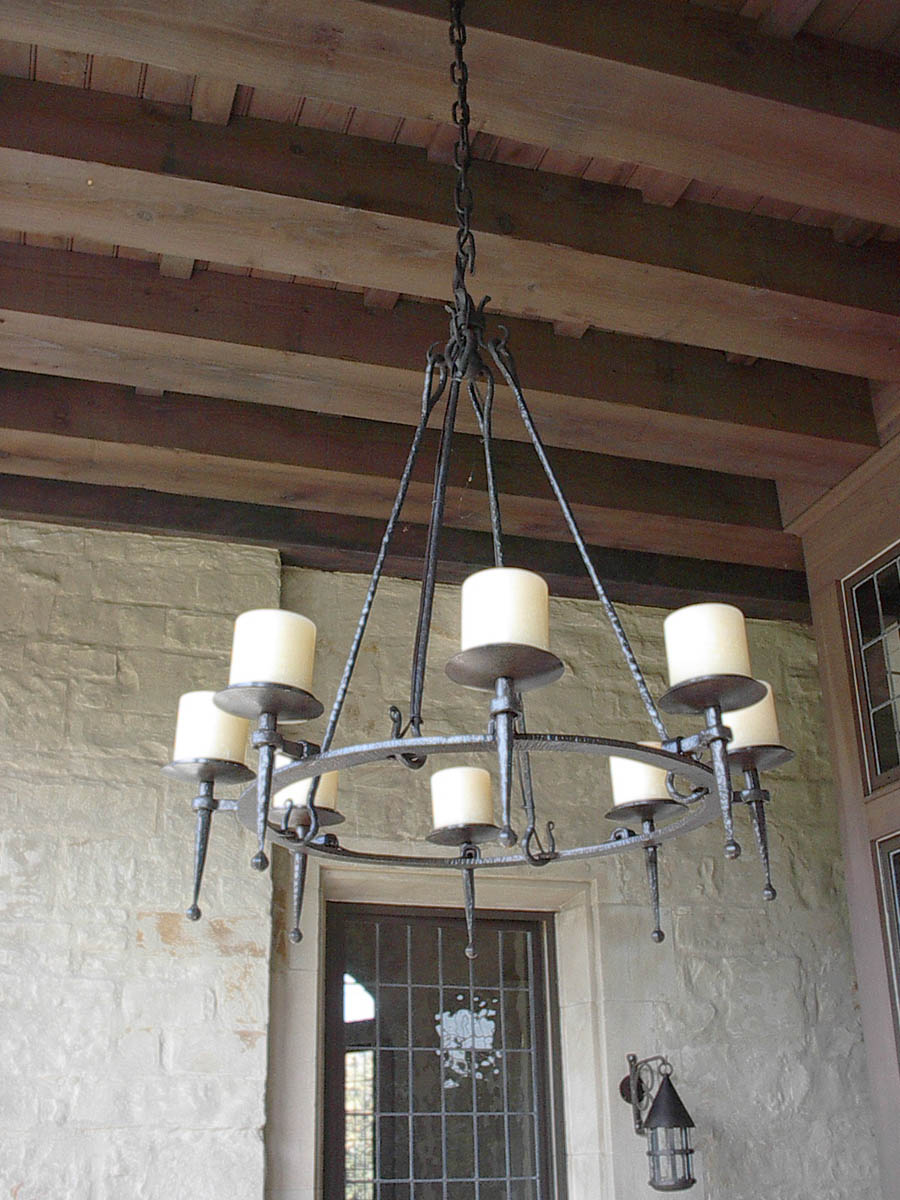 Single Ring Chandelier